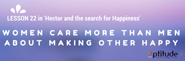 Lesson 22 in Hector and the search for Happiness